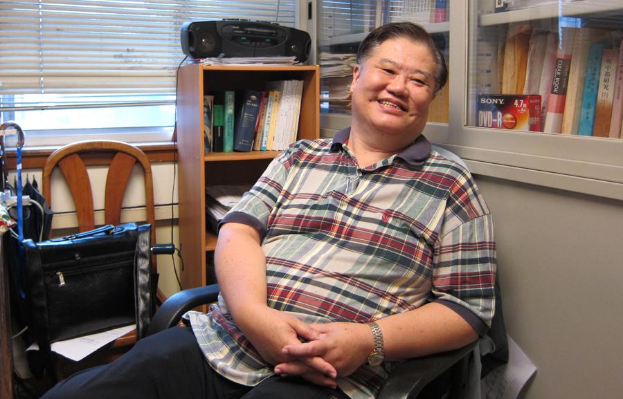 專訪朱鴻教授