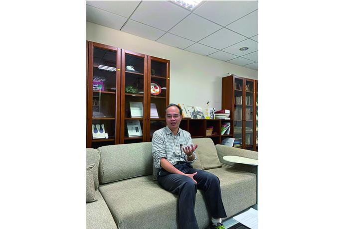 專訪康培德教授