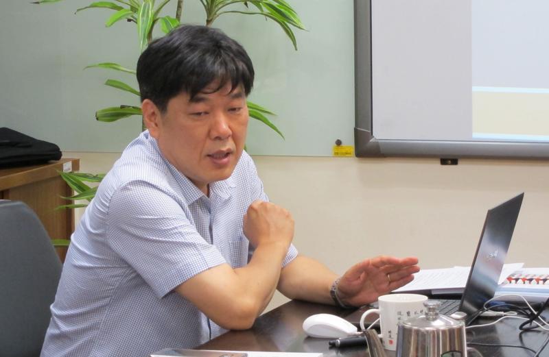 姜勇仲教授演講「試探明代商業書《客商一覽醒迷》的商業意識和其結構」紀要