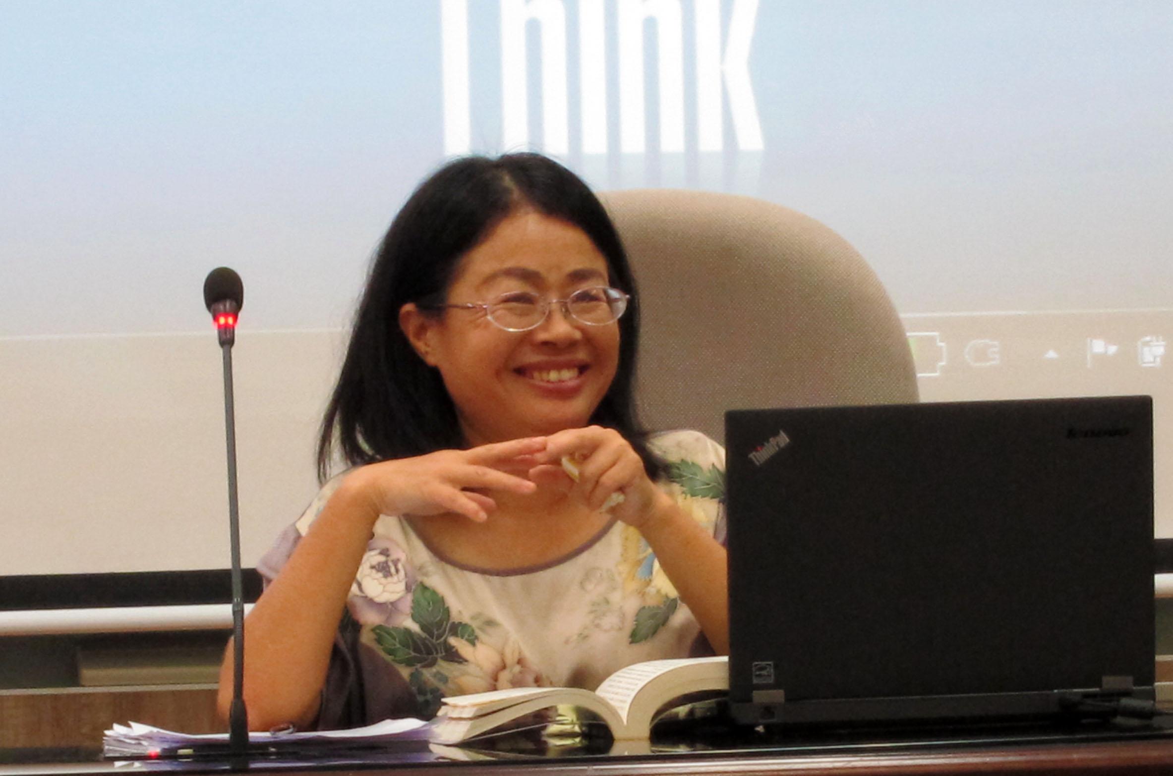楊惠玲教授演講「對明清曲籍編刊活動的考察之一——以李開先《中麓小令》為個案」紀要