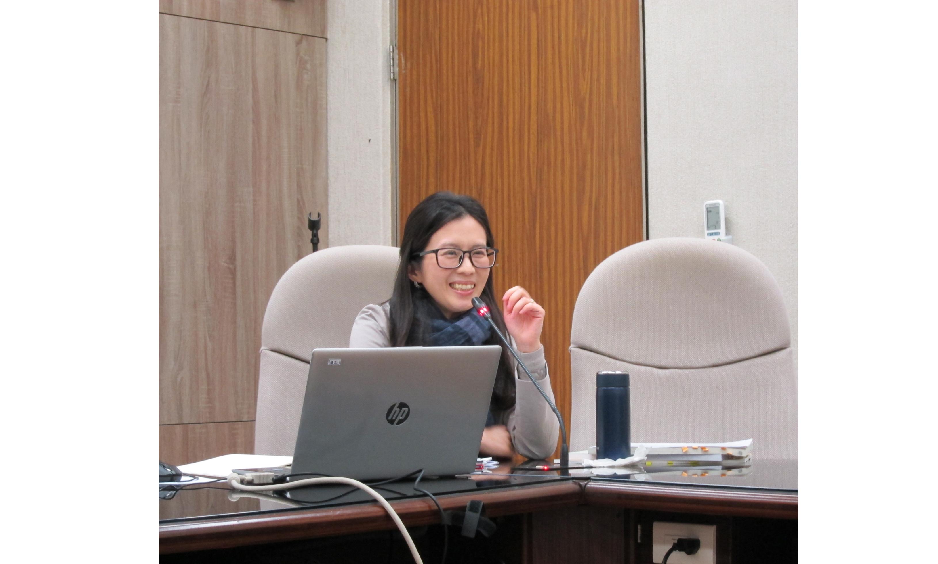 劉瓊云教授演講「教育、感知、生活——《日記故事》與近世中國通俗忠觀」紀要
