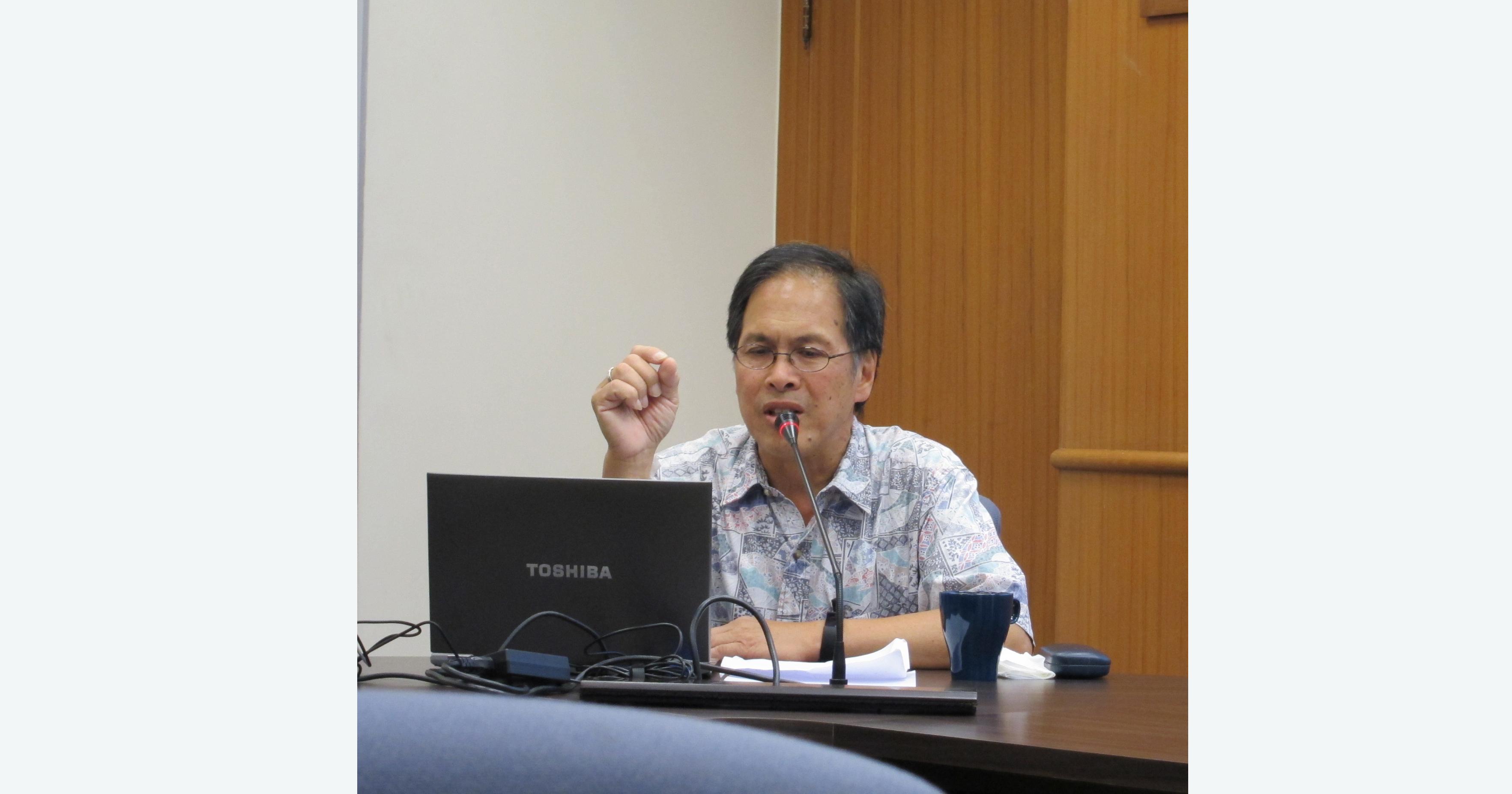 王國斌教授演講「中國歷史所提供的國家治理經驗」紀要