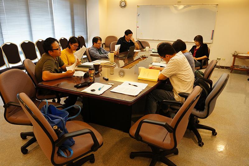 「新清史研究讀書會」 第八次讀書會紀要