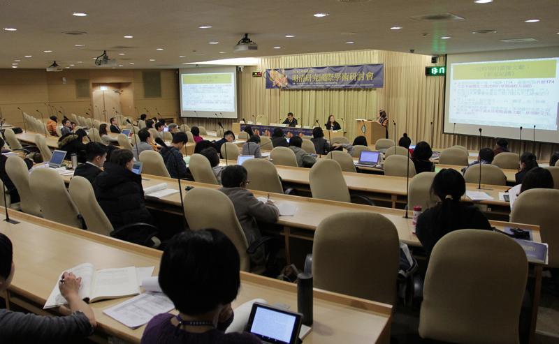 2015 年中央研究院明清研究國際學術研討會「文學藝術」場次會議報導