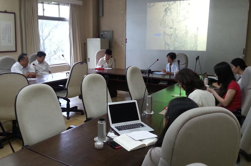 呂立亭教授演講「徐渭雜劇《狂鼓史》與其幕府生涯」紀要