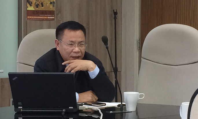 陳益源教授演講「一路題詩到日邊——談越南使節在中國的文學活動」紀要