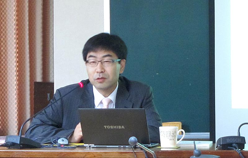 丘凡真教授演講「十八世紀八十年代朝鮮使臣與清廷『筵宴朝正外藩禮』的變化」紀要