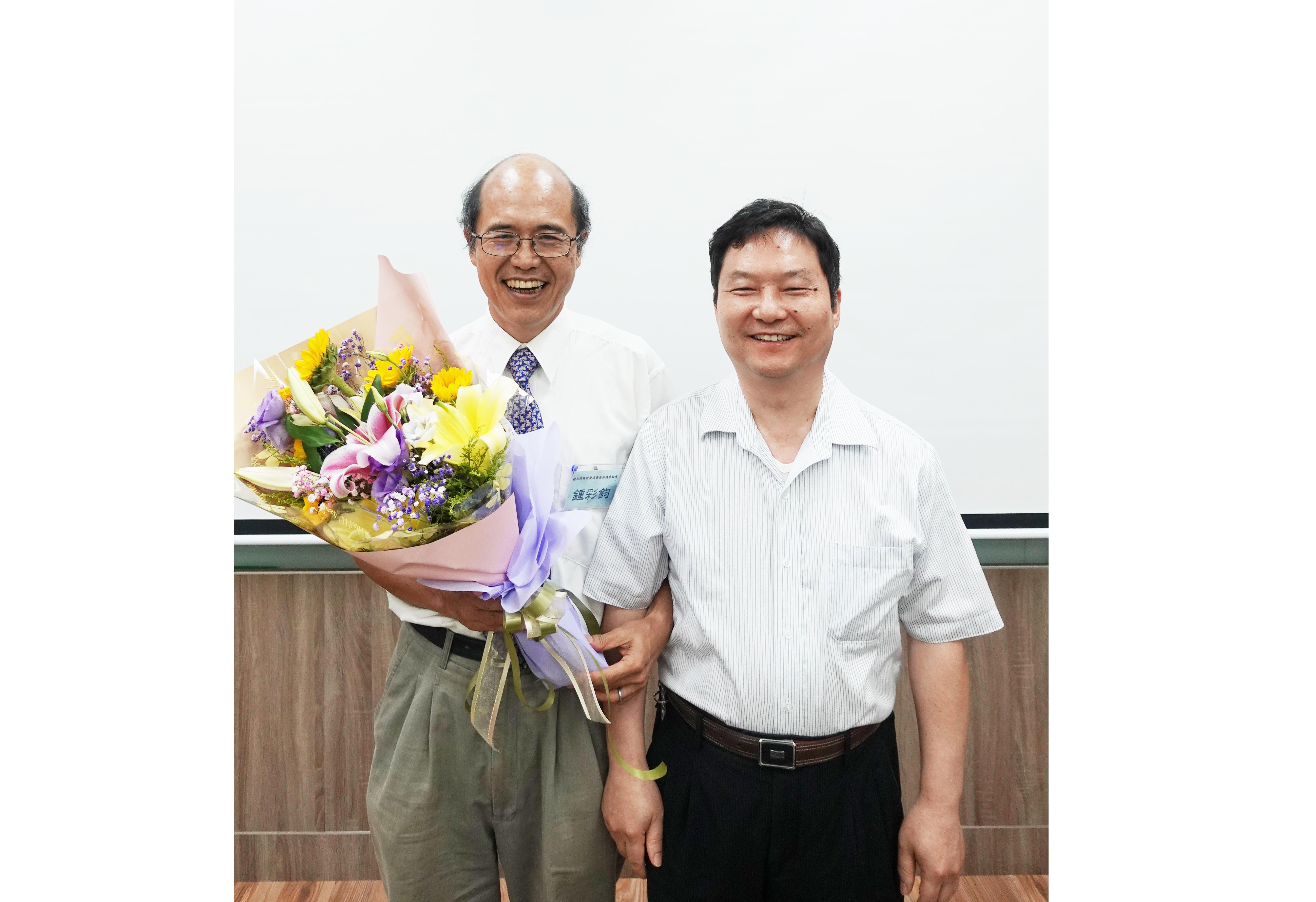 專訪鍾彩鈞教授