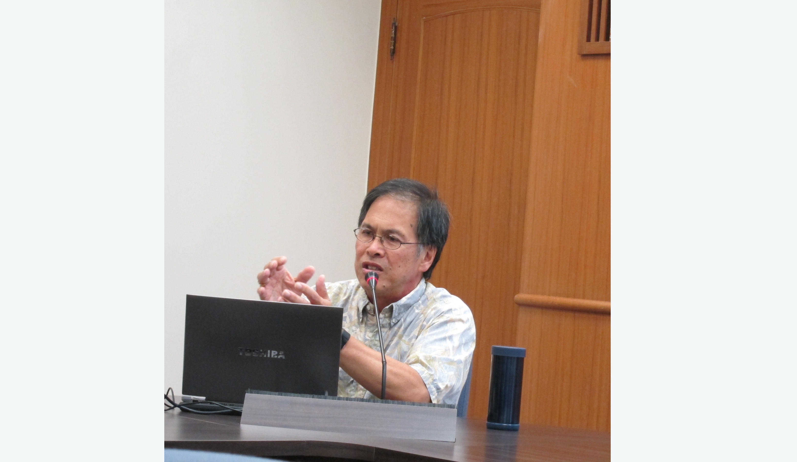 王國斌教授演講「中國歷史對於瞭解中國現況的意義」紀要
