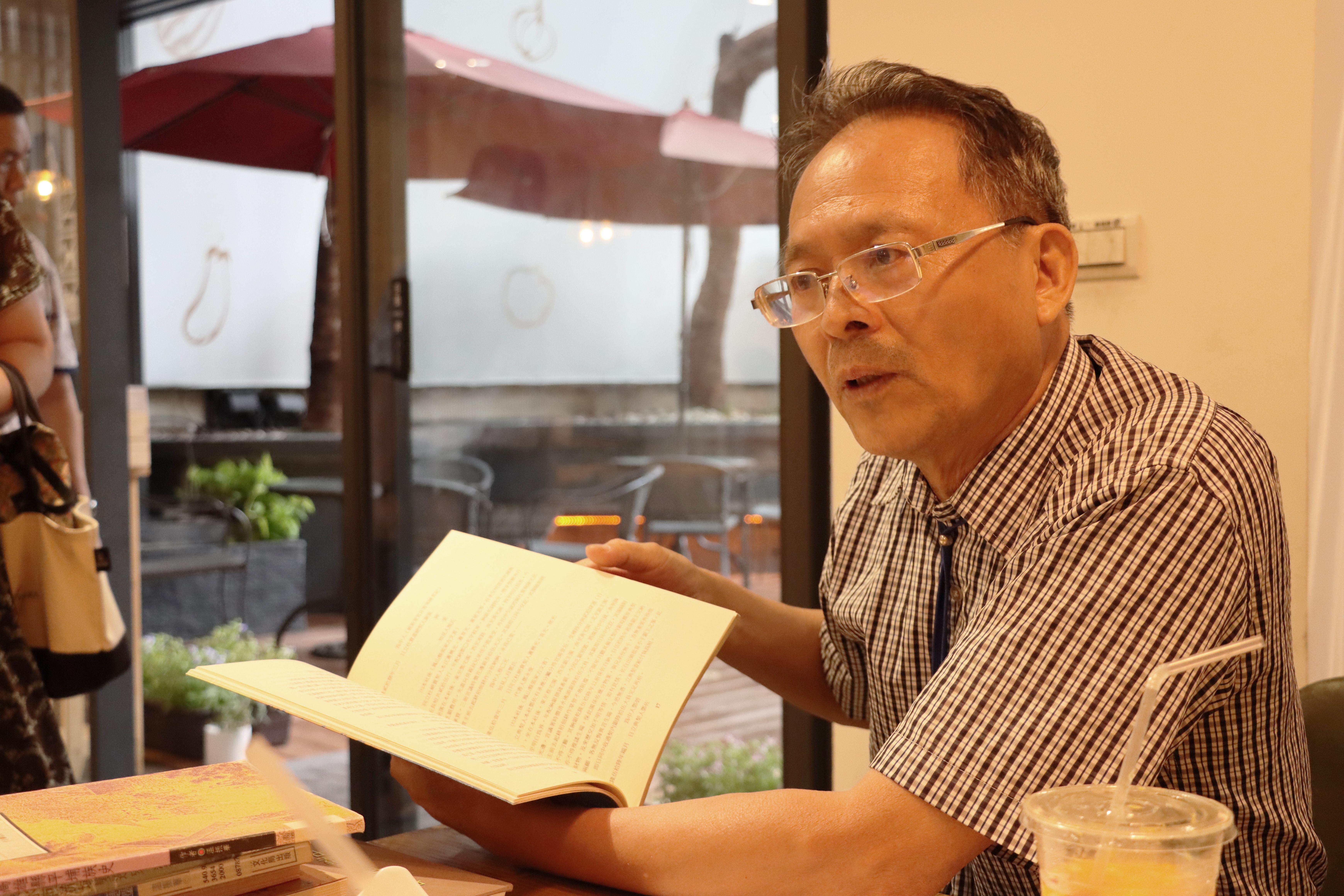 專訪溫振華教授