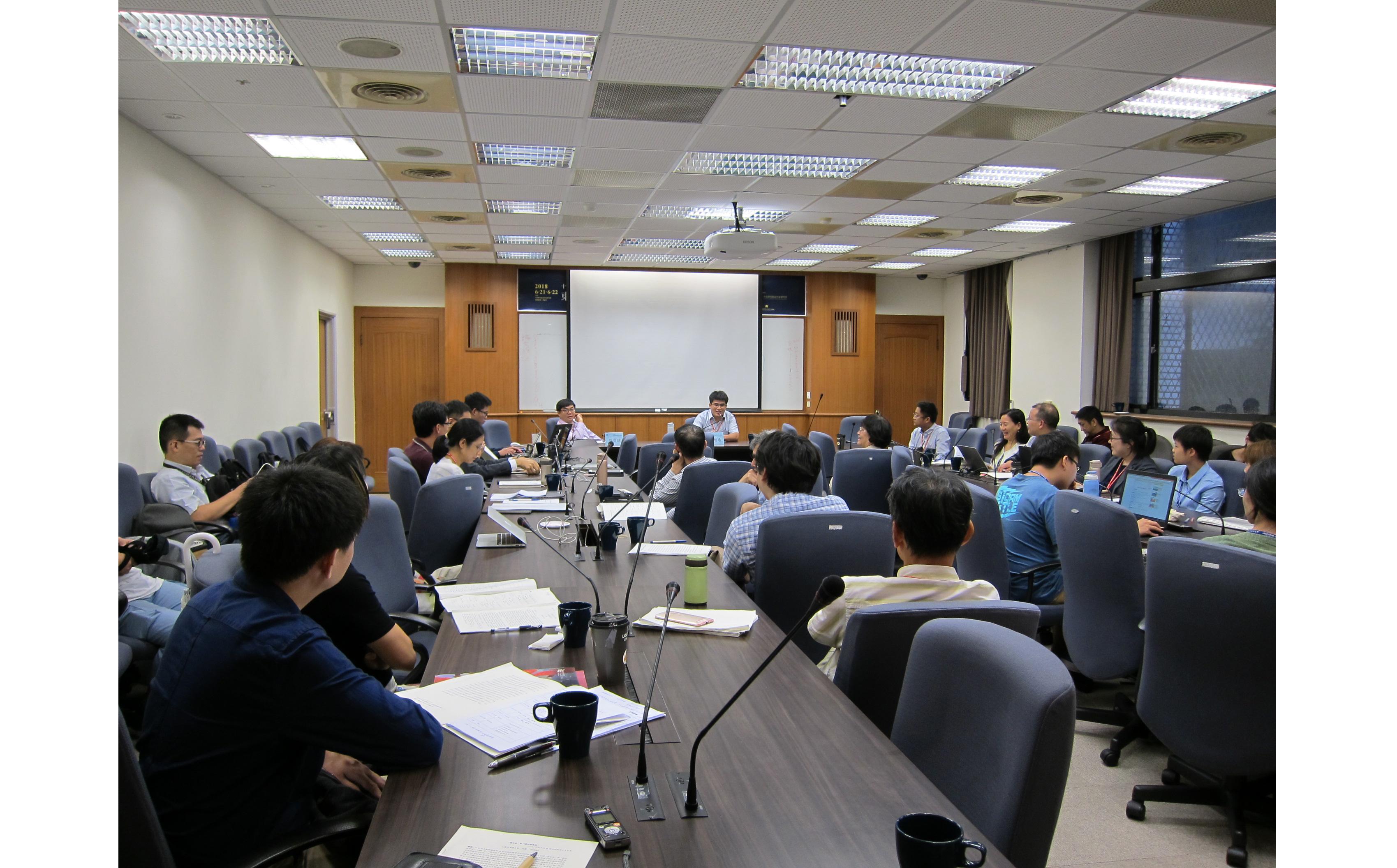 「十六─十八世紀東亞世界的文人社集」國際學術研討會會議報導