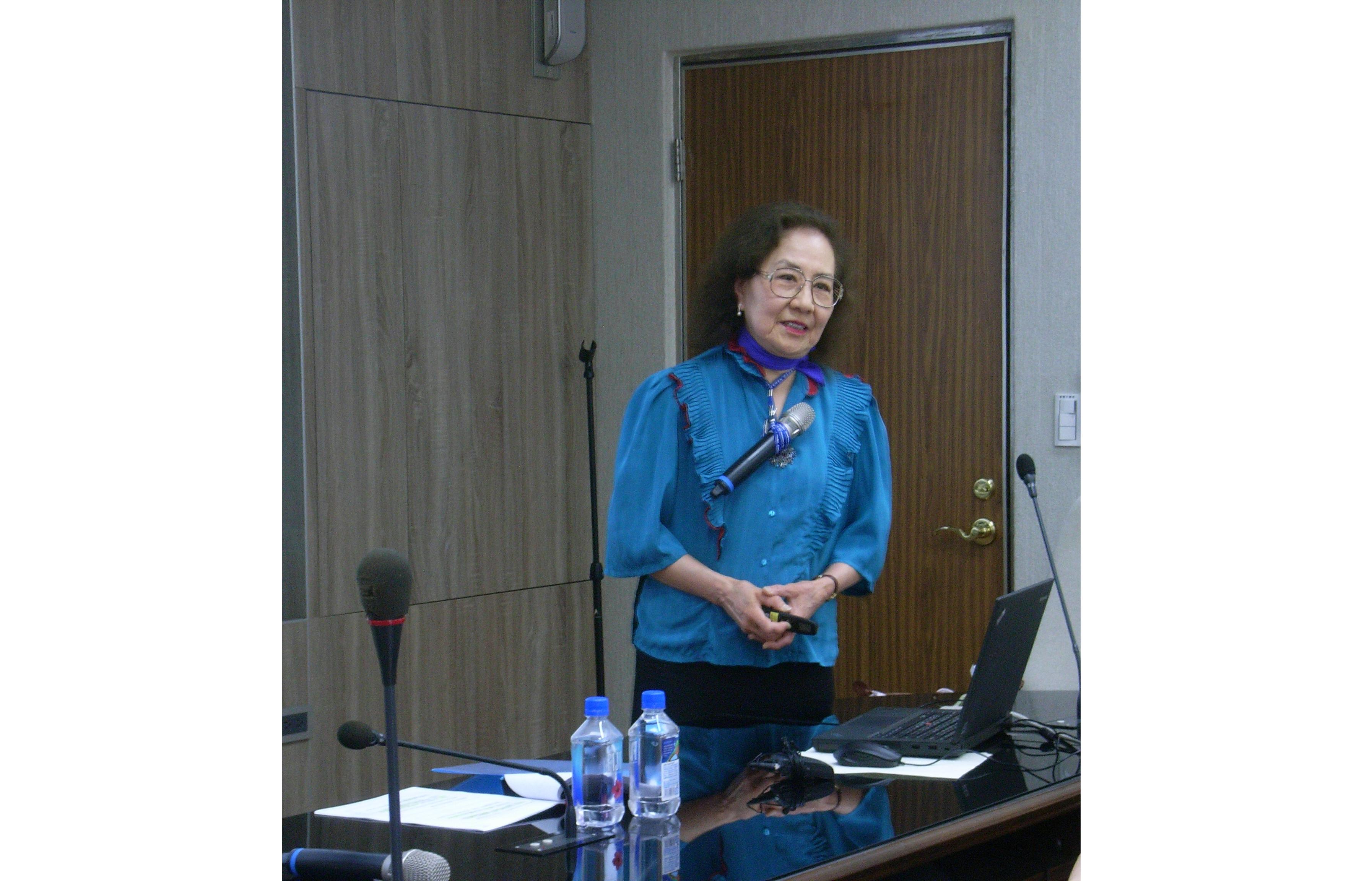 孫康宜教授演講「中國文學的作者問題」紀要
