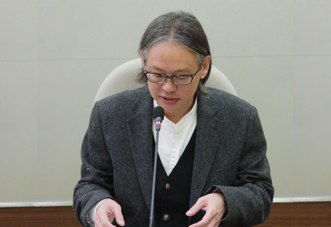 嚴志雄教授演講「試論錢謙益之論次麗末東國史及詩」紀要