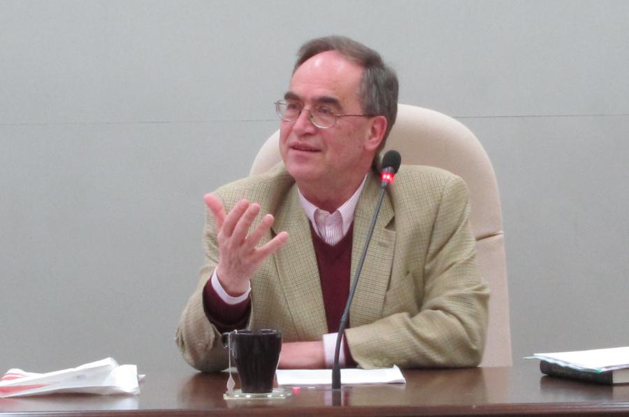 伊維德教授演講「元雜劇的異本與譯本」紀要